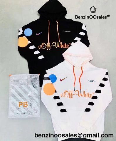 Replica Ua Off-White X Nike Football Hoodie