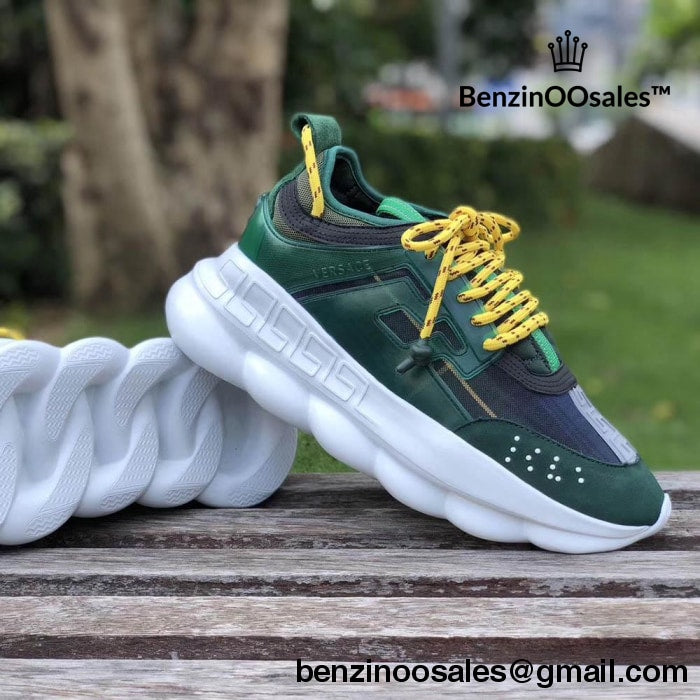 Chainz 2 Made Replica Sneakers Chain Versace Yfvb76gy