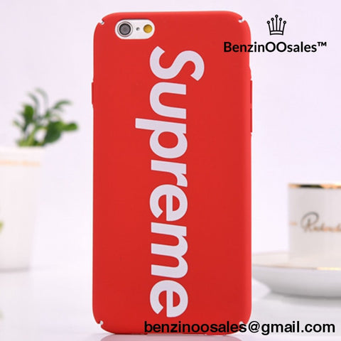 Supreme Iphone Covers For Iphone 5 To 7 Plus Cover