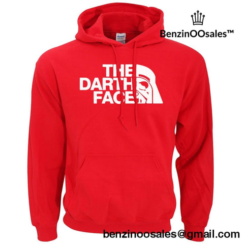 The Dart Face (Northern Face Parody) Pullover Hoody Pullover Hoody