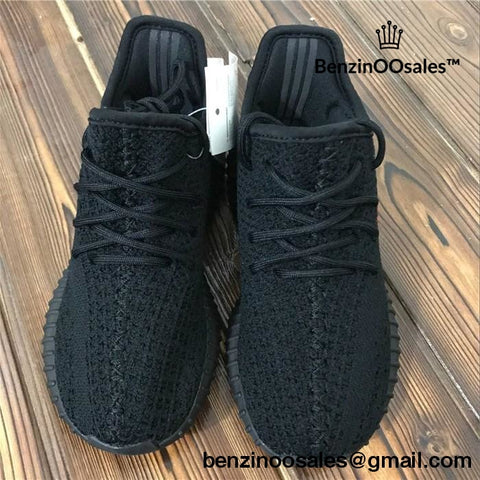 a4a8e7856dc79 ... closeout toddler kidz adidas yeezy boost 350 v2 real boosts all black  bred a98f2 8a015