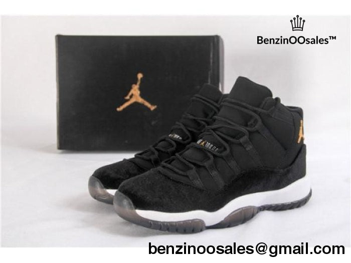 Ua Air Jordan Retro 11 Black Velvet Bred