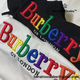 Ua Replica Colorful Rainbow Colored Burberry Of London Sweatshirt