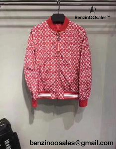 Ua Replica Red Supreme X Jacket Leather Bomber