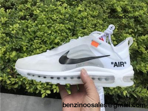 Ua Virgil Abloh Off-White X Nike Air Max 97 Og Polar Opposites