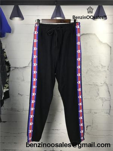 Vetements X Champion Cotton-Blend Track Pants In Black (Trending Right Now)