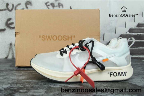 Virgil Abloh Off-White X Nike Zoom Fly Off-White