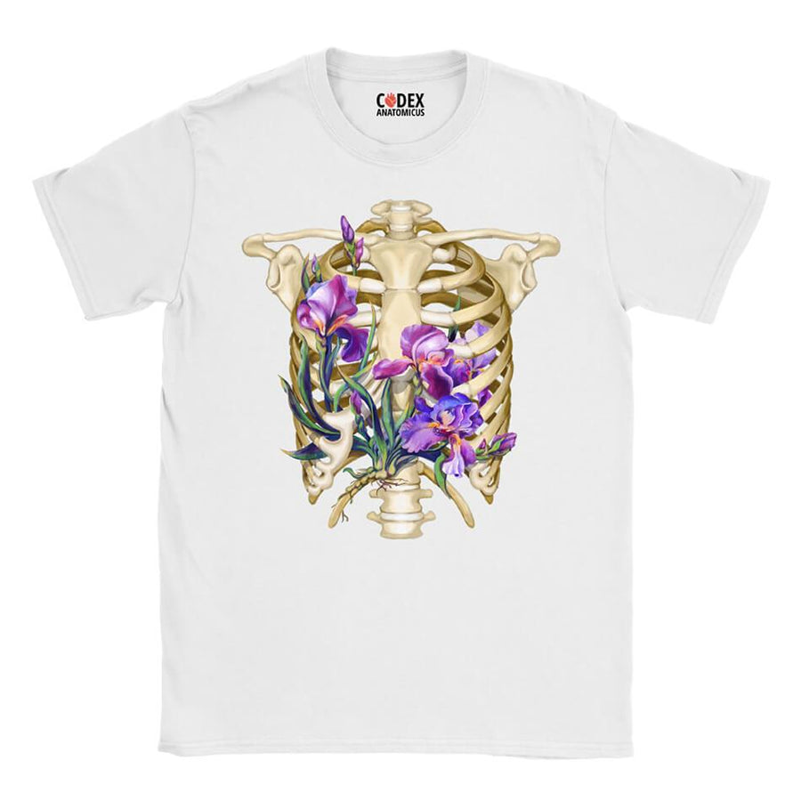 Rib cage Unisex T-Shirt - Floral