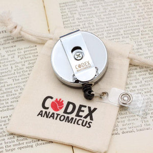 Heart badge reel - 40mm