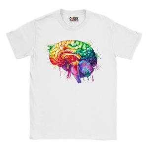 Brain anatomy t-shirt for doctors and medical students by codex anatomicus