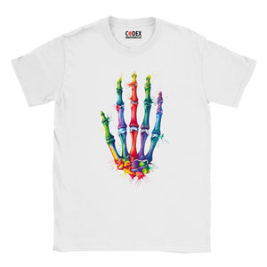 Hand anatomy t-shirt for doctors and medical students by codex anatomicus