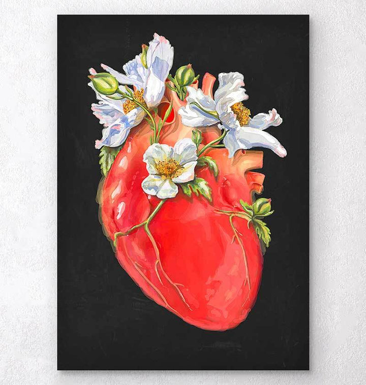 Floral heart anatomy