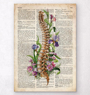 Spine artwork