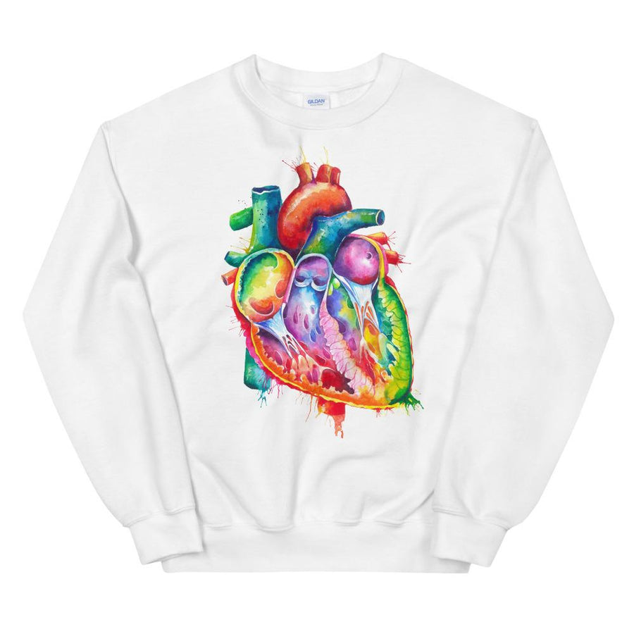 cardiology sweatshirt for doctors and medical students