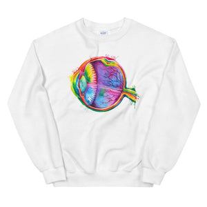 Eye Unisex Sweatshirt - Watercolor