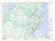 001M03 Marystown Canadian topographic map, 1:50,000 scale