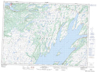 001N04 Placentia Canadian topographic map, 1:50,000 scale