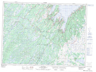 001N06 Holyrood Canadian topographic map, 1:50,000 scale
