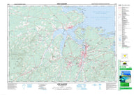 011E10 New Glasgow Canadian topographic map, 1:50,000 scale