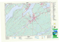 011K01 Sydney Canadian topographic map, 1:50,000 scale