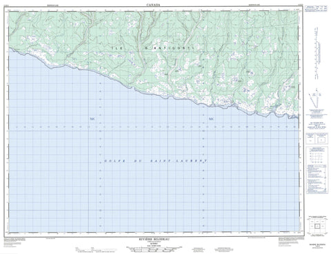 012E02 Riviere Bilodeau Canadian topographic map, 1:50,000 scale