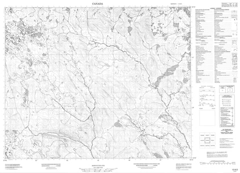 013A02 No Title Canadian topographic map, 1:50,000 scale