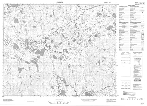 013A03 No Title Canadian topographic map, 1:50,000 scale