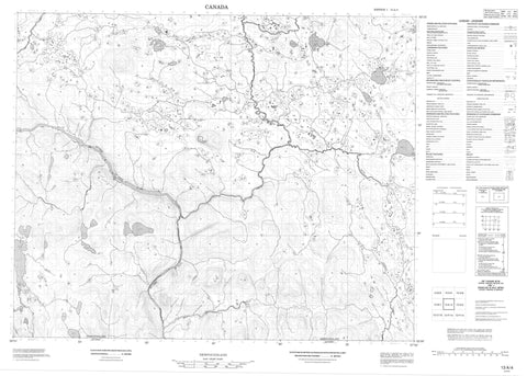 013A04 No Title Canadian topographic map, 1:50,000 scale