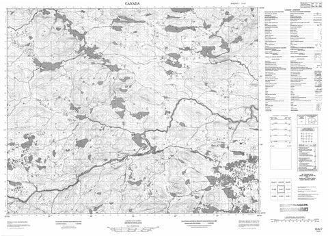 013A07 No Title Canadian topographic map, 1:50,000 scale