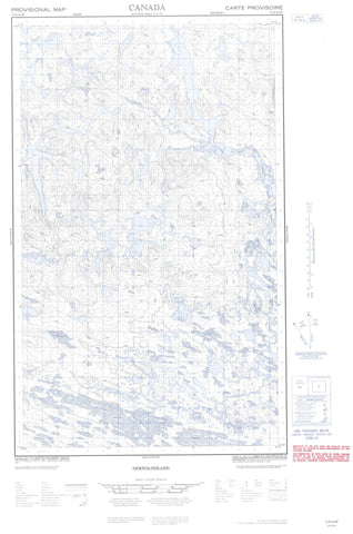 013D16W No Title Canadian topographic map, 1:50,000 scale