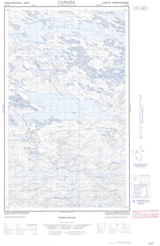 013E10W No Title Canadian topographic map, 1:50,000 scale