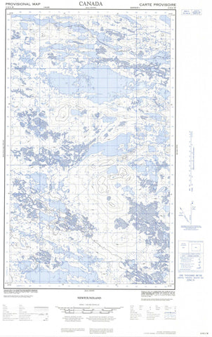 013E11W No Title Canadian topographic map, 1:50,000 scale