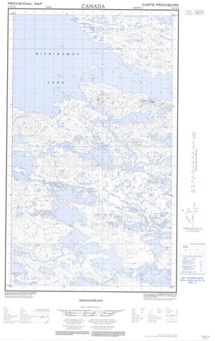 013E13E Mating Lake Canadian topographic map, 1:50,000 scale