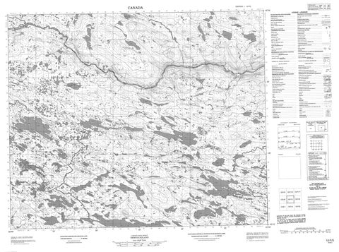 013F05 No Title Canadian topographic map, 1:50,000 scale