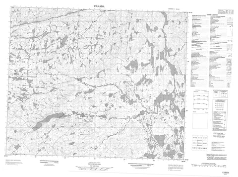 013G03 No Title Canadian topographic map, 1:50,000 scale