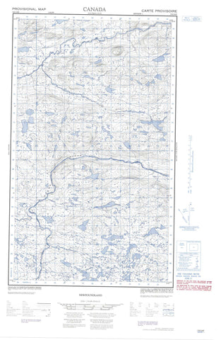 013G16E No Title Canadian topographic map, 1:50,000 scale
