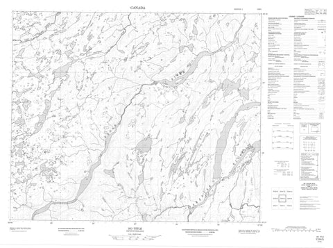 013H05 No Title Canadian topographic map, 1:50,000 scale