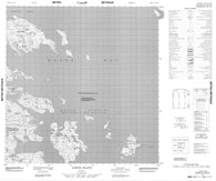 016E06 Ilikok Island Canadian topographic map, 1:50,000 scale