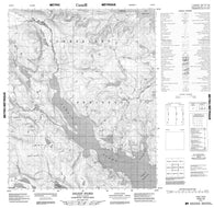 016E15 Ingnit Fiord Canadian topographic map, 1:50,000 scale