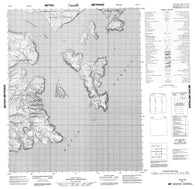 016E16 No Title Canadian topographic map, 1:50,000 scale
