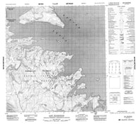 016L01 Cape Walsingham Canadian topographic map, 1:50,000 scale