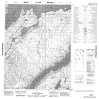 016M04 No Title Canadian topographic map, 1:50,000 scale