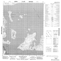 016M05 Qukiavik Island Canadian topographic map, 1:50,000 scale