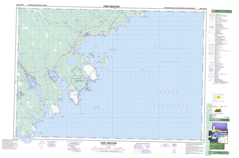 020P15 Port Mouton Canadian topographic map, 1:50,000 scale