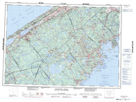 021A Annapolis Royal Canadian topographic map, 1:250,000 scale