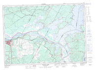 021G16 Grand Lake Canadian topographic map, 1:50,000 scale