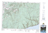 021H11 Waterford Canadian topographic map, 1:50,000 scale