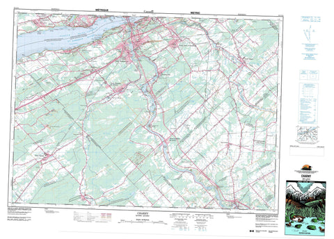 021L11 Charny Canadian topographic map, 1:50,000 scale