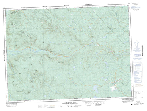 021O08 California Lake Canadian topographic map, 1:50,000 scale