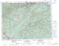 021O Campbellton Canadian topographic map, 1:250,000 scale